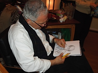 doug drawing good